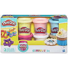 Buy Play-Doh Confetti Collection, Pack of 6 Online at johnlewis.com