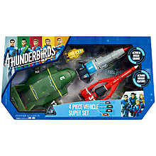 Buy Thunderbirds Four Piece Vehicle Super Set Online at johnlewis.com
