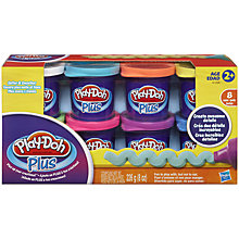 Buy Play-Doh Plus 8 Tub Pack Online at johnlewis.com