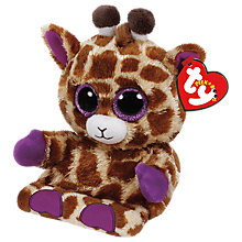 Buy Ty Jesse Giraffe Peek-A-Boo Soft Toy Online at johnlewis.com