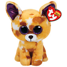 Buy Ty Beanie Boos Pablo Dog Soft Toy, 16cm Online at johnlewis.com