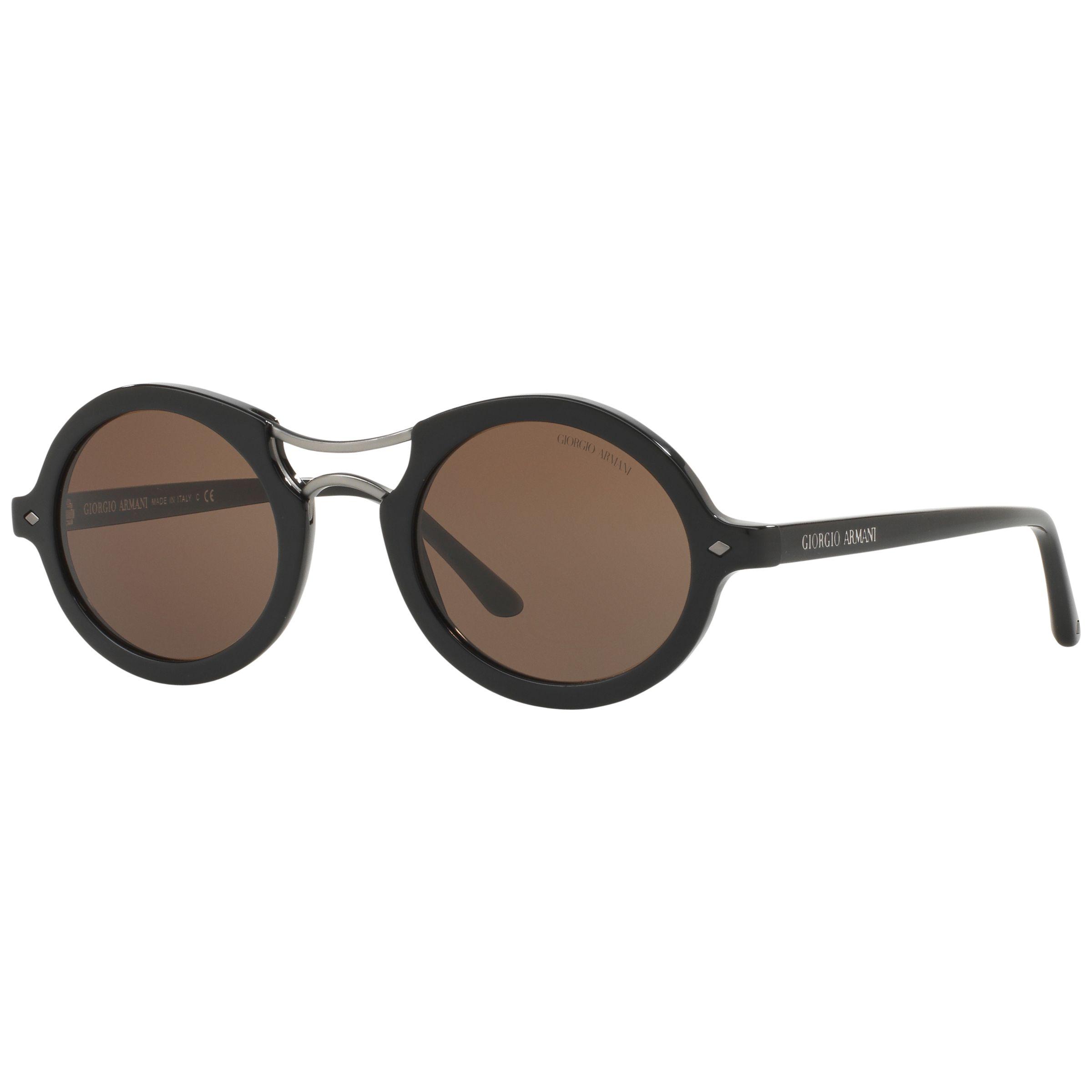 Buy Giorgio Armani AR8072 Frames of Life Round Sunglasses ...