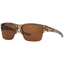 Buy Oakley OO9316 Thinlink Rectangular Sunglasses Online at johnlewis.com