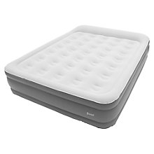 Buy Outwell Flock Superior Double Airbed With Built-In Pump Online at johnlewis.com