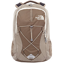 Buy The North Face Women's Jester Backpack, Brindle Brown/Vintage White Online at johnlewis.com