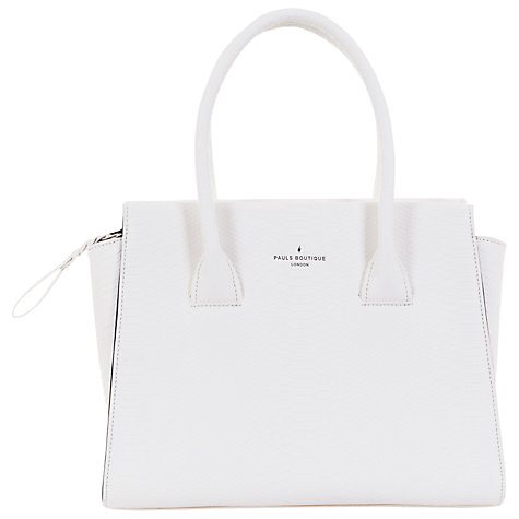 Buy Paul's Boutique Bethany Top Handle Tote Bag, Off White | John ...
