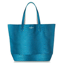 Buy Paul's Boutique Chloe Reversible Tote Bag, Teal / Silver Online at johnlewis.com