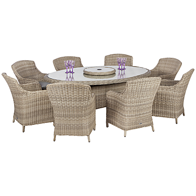Royalcraft Wentworth Oval Imperial 8-Seater Set, 10 Piece
