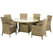 Buy Royalcraft Wentworth Carver 6-Seater Outdoor Dining Set Online at johnlewis.com
