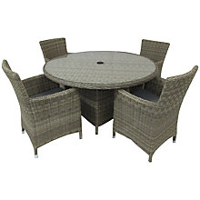 Buy Royalcraft Wentworth Carver 4-Seat Dining Set Online at johnlewis.com