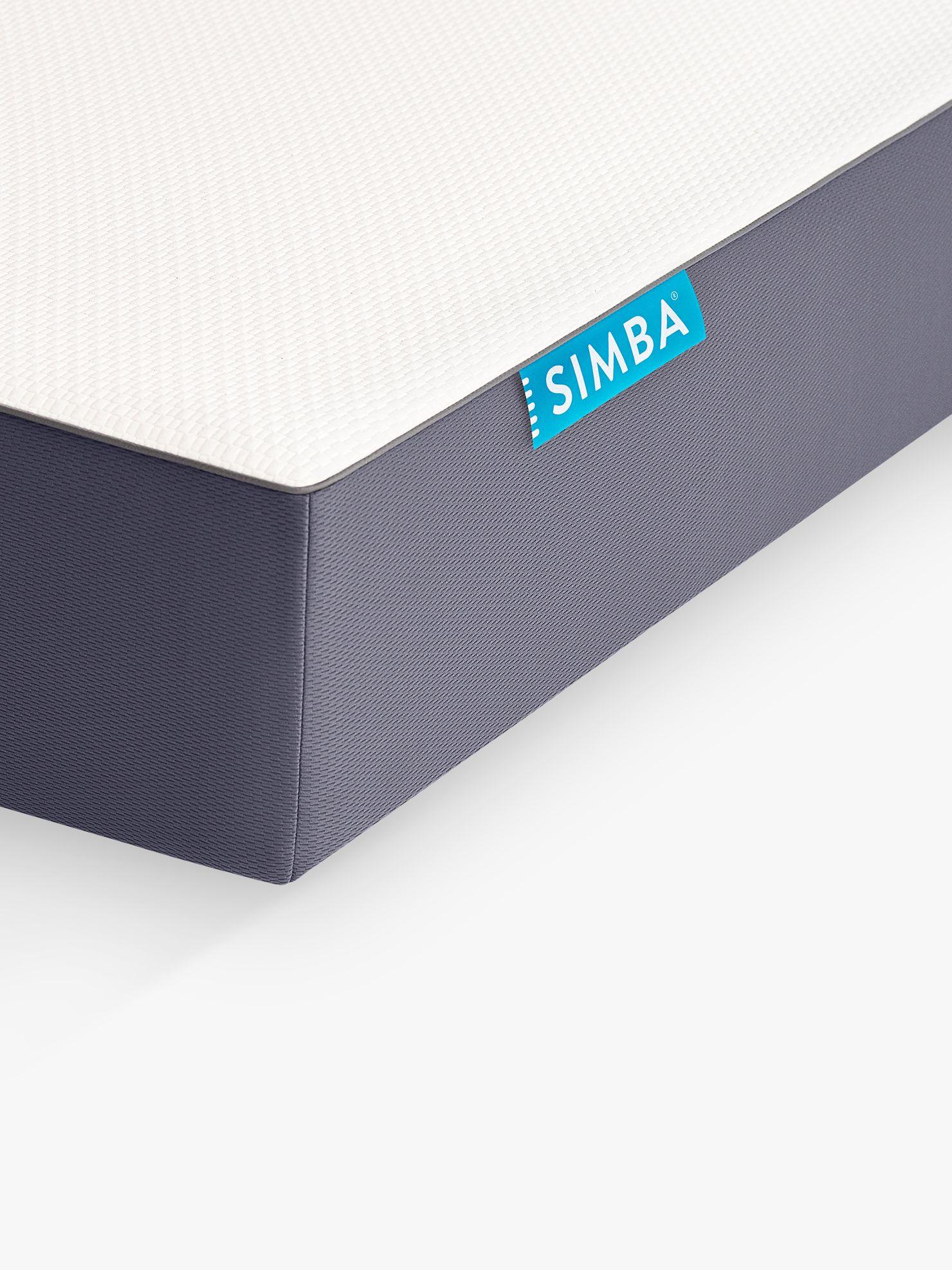 Simba SIMBA Hybrid Memory Foam Pocket Spring Mattress, Single