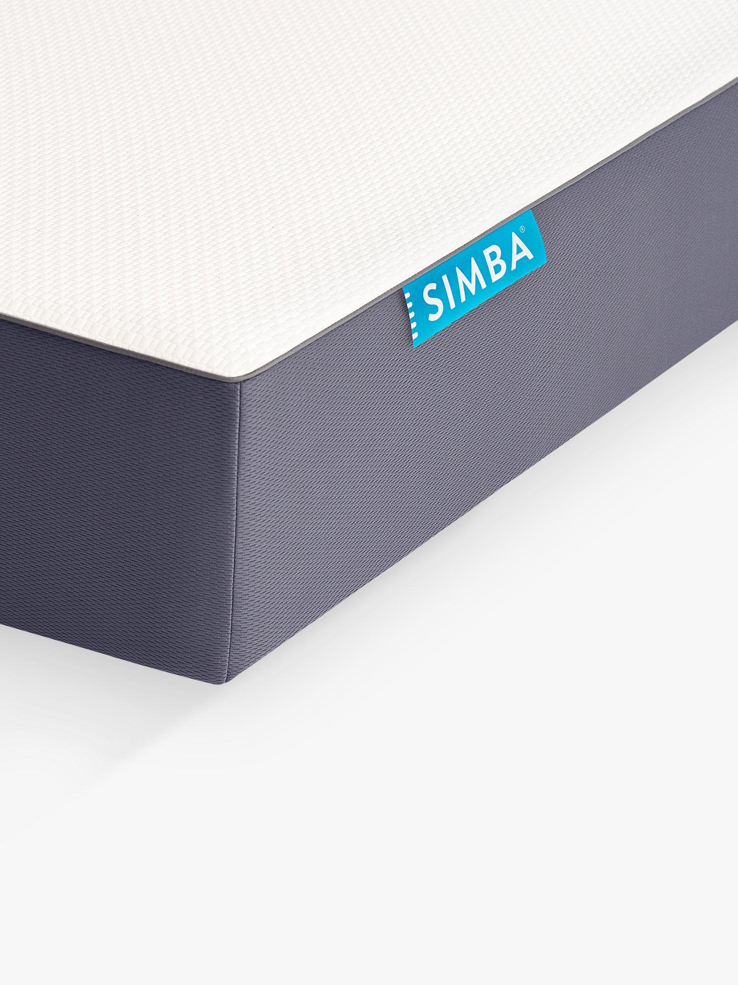 Simba SIMBA Hybrid Memory Foam Pocket Spring Mattress, King Size