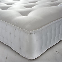 Buy John Lewis Essentials Collection 1200 Wool Comfort Pocket Spring Mattress, Double Online at johnlewis.com