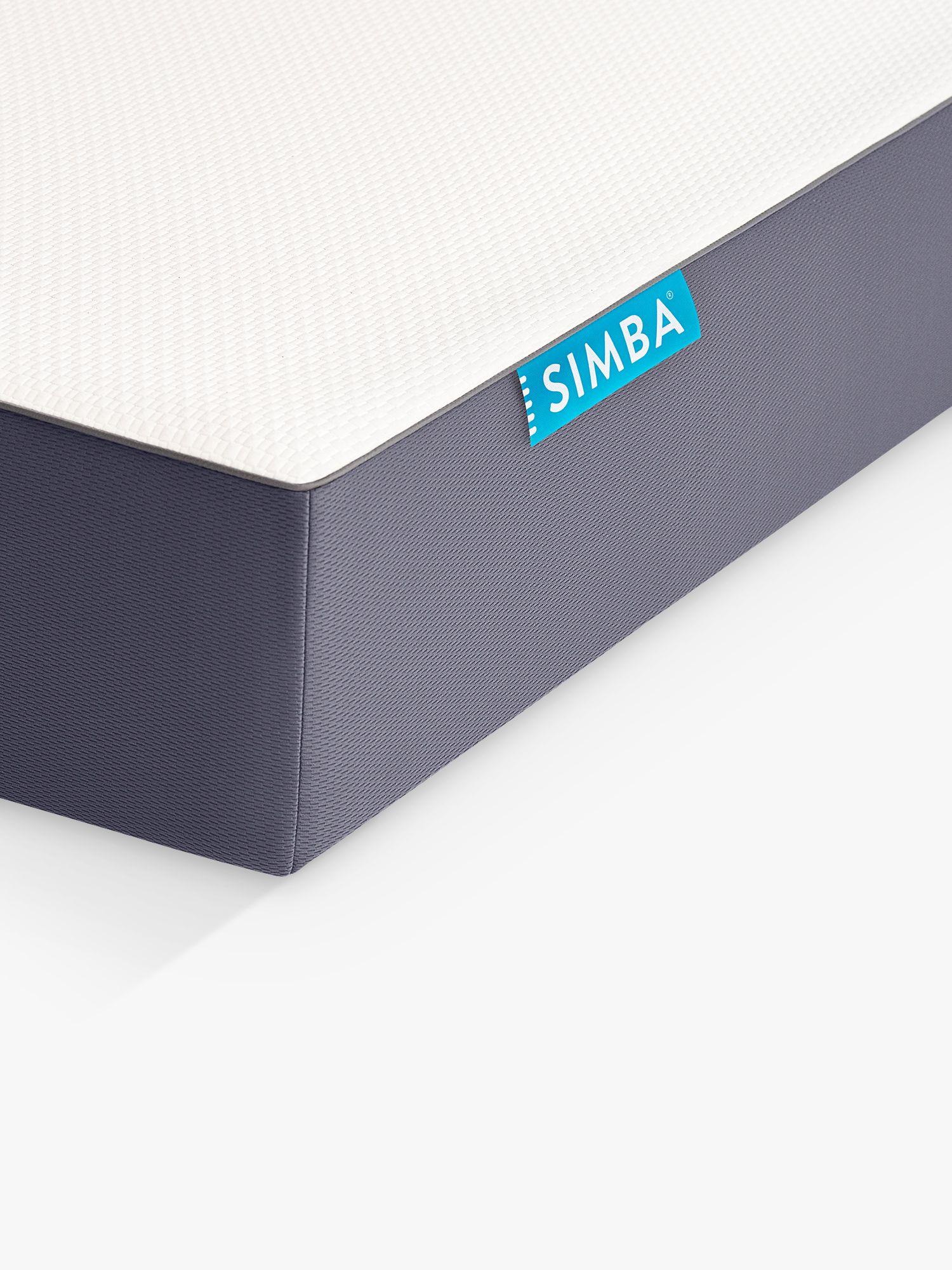 Simba SIMBA Hybrid Memory Foam Pocket Spring Mattress, Super King Size