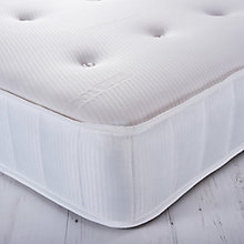 Buy John Lewis Memory Collection Response 920 Memory Foam Deluxe Open Spring Mattress, Medium, Single Online at johnlewis.com