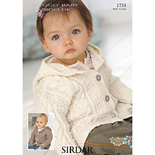 Buy Sirdar Snuggly Baby Hooded Jacket, 1733 Online at johnlewis.com