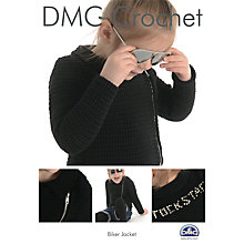 Buy DMC Creative Children's Biker Jacket Crochet Pattern Online at johnlewis.com