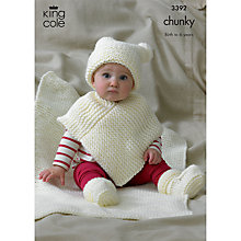 Buy King Cole Comfort Chunky Baby Garments Knitting Pattern, 3392 Online at johnlewis.com