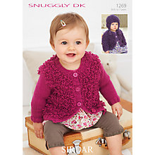 Buy Sirdar Snuggly Children's Hat and Cardigan Knitting Pattern, 1269 Online at johnlewis.com