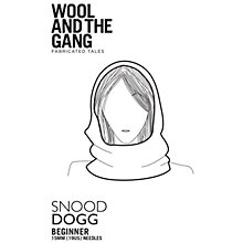 Buy Wool and the Gang Snood Dogg Knitting Pattern Online at johnlewis.com