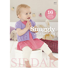 Buy Sirdar Snuggly Little Party Knits Knitting Pattern Booklet, 0497 Online at johnlewis.com