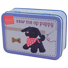 Buy Apples To Pears Sew Me Up Puppy Sewing Kit, Black Online at johnlewis.com