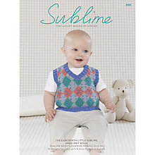 Buy Sirdar Sublime Baby Knitting Pattern Booklet, 0696 Online at johnlewis.com