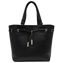 Buy Reiss Enza Large Leather Shopper Bag Online at johnlewis.com