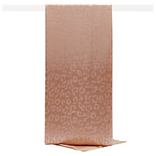 Buy Reiss Mindy Jacquard Printed Scarf, Peach Pink Online at johnlewis.com
