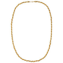 Buy Susan Caplan Vintage 1980s Trifari Gold Plated Faux Pearl Necklace, Gold Online at johnlewis.com