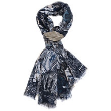 Buy French Connection Audrey Palms Scarf, Lala Palms Turtle Online at johnlewis.com