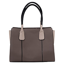 Buy French Connection Polly Tote Bag, Grey Online at johnlewis.com