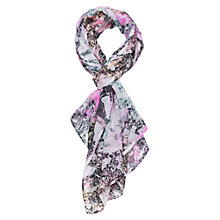 Buy French Connection Pool Print Scarf, Multi Online at johnlewis.com