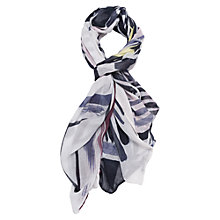 Buy French Connection Anya Scarf, Empire Grid Print Online at johnlewis.com