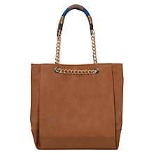 Buy French Connection Cherise Tote Bag, Tan/Multi Online at johnlewis.com