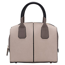 Buy French Connection Pietra Mini Holdall, Grey/Multi Online at johnlewis.com