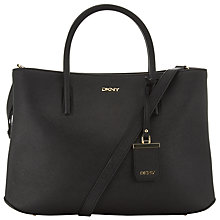 Buy DKNY Bryant Park Saffiano Leather Detail Shopper Bag Online at johnlewis.com