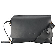 Buy DKNY Heavy Nappa Flapover Across Body Bag Online at johnlewis.com