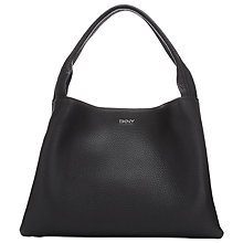 Buy DKNY Tribeca Soft Tumbled Leather Hobo Bag Online at johnlewis.com