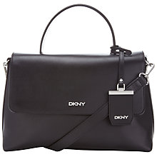 Buy DKNY Soft Pebble Flapover Across Body Bag Online at johnlewis.com