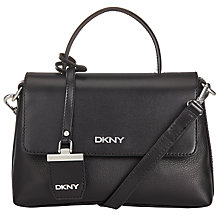 Buy DKNY Soft Pebble Mini Flapover Across Body Bag Online at johnlewis.com