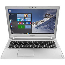 "Buy Lenovo Ideapad 500 Laptop, AMD A10, 12GB RAM, 1TB HDD + 8GB SSD, 15.6"" Full HD Online at johnlewis.com"
