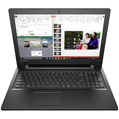 "Image of Lenovo Ideapad 300 Laptop, Intel Core i5, 8GB RAM, 1TB, 15.6"", Black"