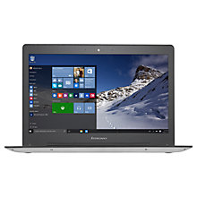 "Buy Lenovo Ideapad 500 Laptop, Intel Core i5, 8GB RAM, 256GB, 14"", Full HD, Silver and Microsoft Office 365 Home Premium, 5 PCs, One Year Subscription Online at johnlewis.com"