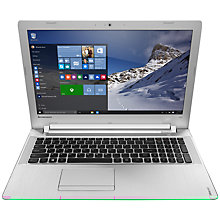 "Buy Lenovo Ideapad 500 Laptop, Intel Core i5, 12GB RAM, 2TB, 15.6"" Online at johnlewis.com"