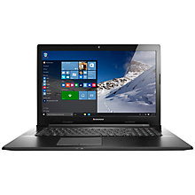 "Buy Lenovo G70 Laptop, Intel Core i3, 8GB RAM, 1TB, 17.3"", HD+, Black Online at johnlewis.com"