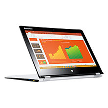 "Buy Lenovo YOGA 700 Convertible Laptop, Intel M3, 8GB RAM, 128GB SSD, 11.6"" Touch Screen Online at johnlewis.com"