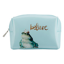 Buy Catseye Believe Large Frog Prince Beauty Bag Online at johnlewis.com