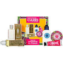 Buy L'Occitane Cares Collection Skincare Gift Set Online at johnlewis.com