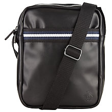 Buy Original Penguin Festival Bag, Black Online at johnlewis.com